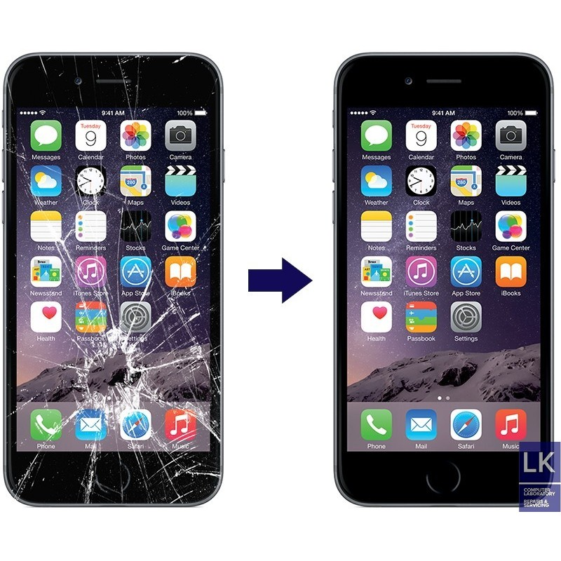 iphone 6 plus screen repair cell. Black Bedroom Furniture Sets. Home Design Ideas